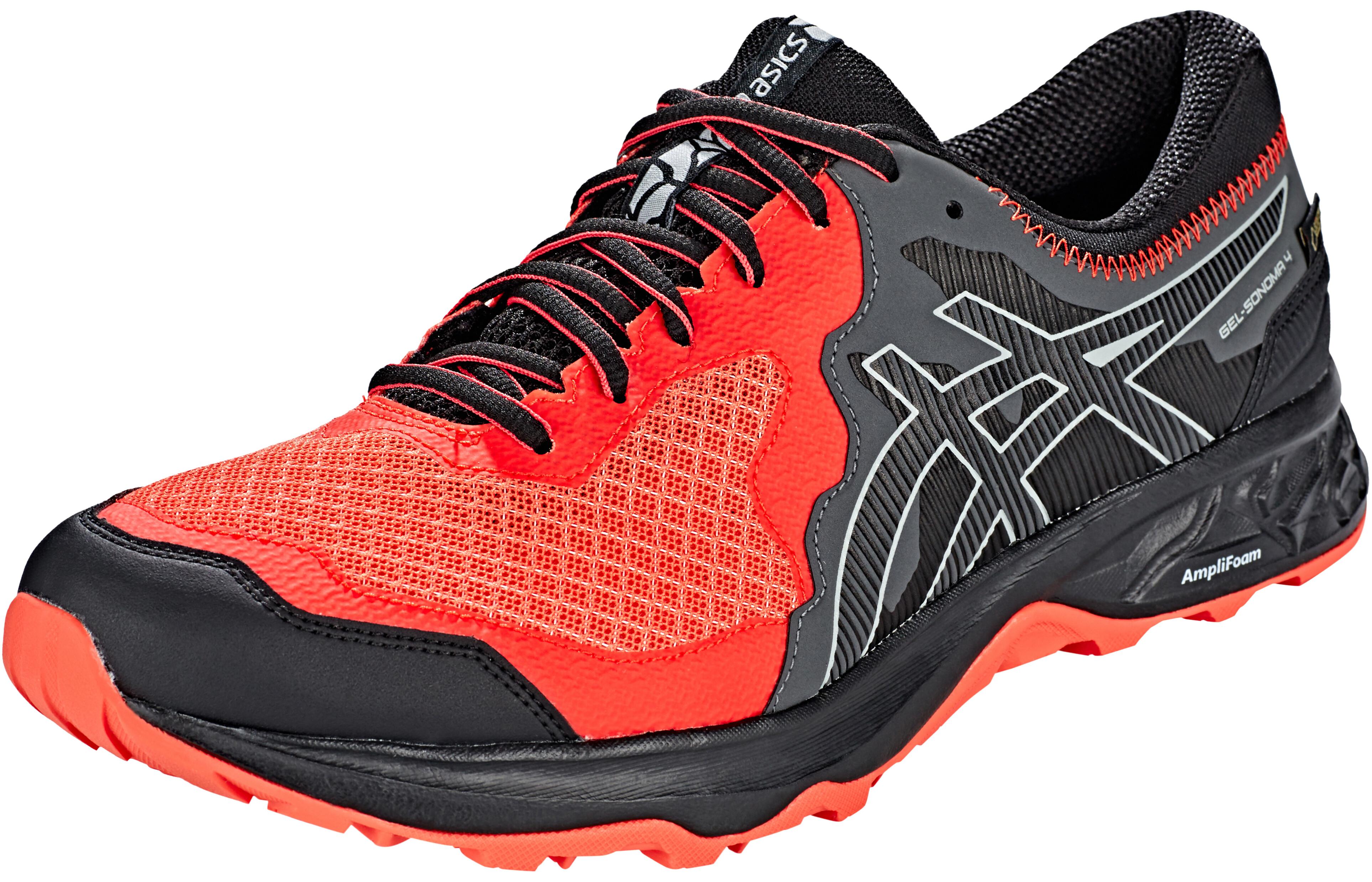 0bfe4e38150 asics Gel-Sonoma 4 G-TX Shoes Men Red Snapper Black